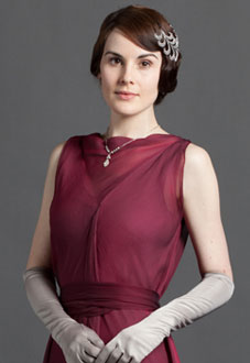 Lady Mary Crawley - played by Michelle Dockery