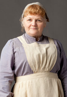 Beryl Patmore, Cook - played by Lesley Nicol