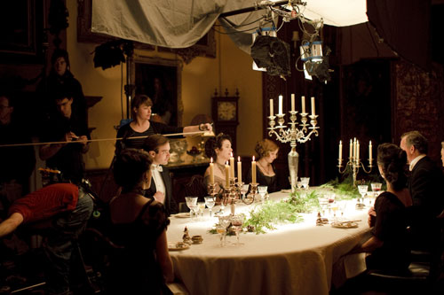 DAS1 BTS: Filming a dinner scene