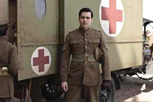Downton Abbey S2E3: Thomas returns to the Abbey to run the army convalescent operation