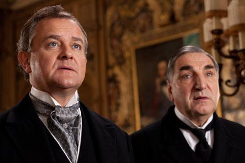 DAS3E1: Lord Grantham and Mr. Carson