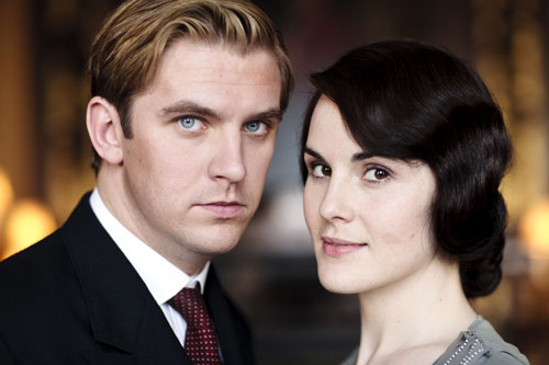 DAS3 Cast: Dan Stevens as Matthew Crawley and Michelle Dockery as Lady Mary Crawley