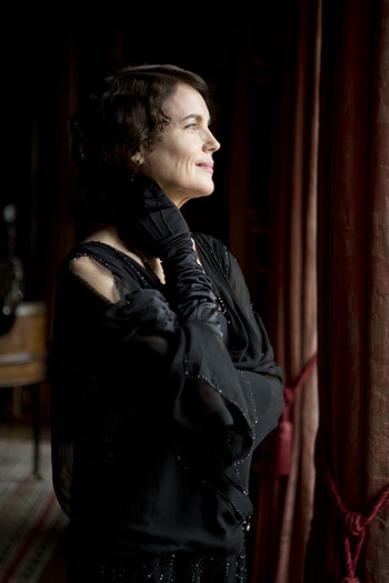 DAS3 Cast: Elizabeth McGovern as Cora Crawley, Countess of Grantham