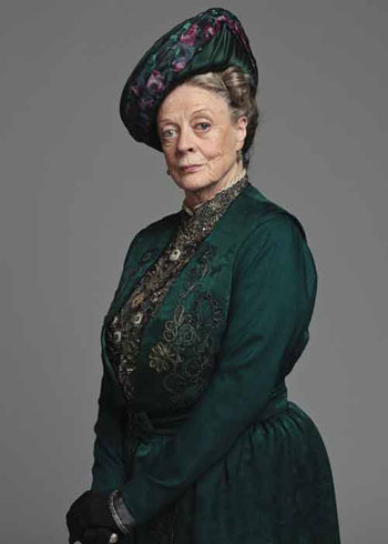 DAS2 CAST: Dame Maggie Smith as Violet Crawley, the Dowager Countess of Grantham