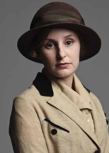 DAS2 CAST: Laura Carmichael as Lady Edith Crawley