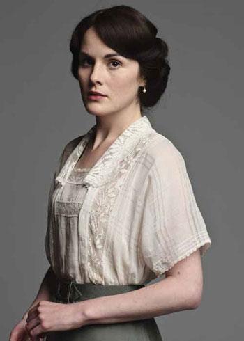 DAS2 CAST: Michelle Dockery as Lady Mary Crawley