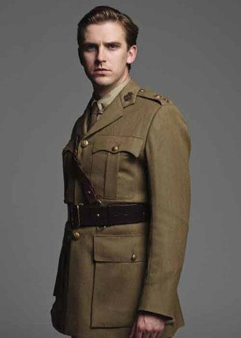 DAS2 CAST: Dan Stevens as Captain Matthew Crawley