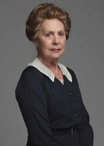 DAS2 CAST: Penelope Wilton as Isobel Crawley, cousin