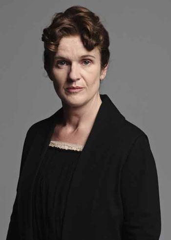 DAS2 CAST: Siobhann Finneran as Sarah O'Brien, Her Ladyship's Lady's Maid