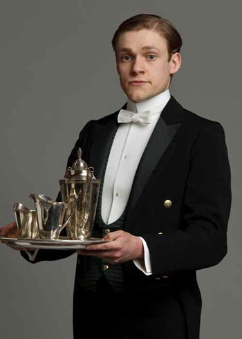 DAS2 CAST: Thomas Howes as Footman and Soldier, William Mason