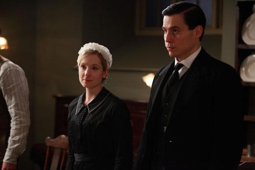DAS3E1: Anna and Thomas in the Servants' Hall