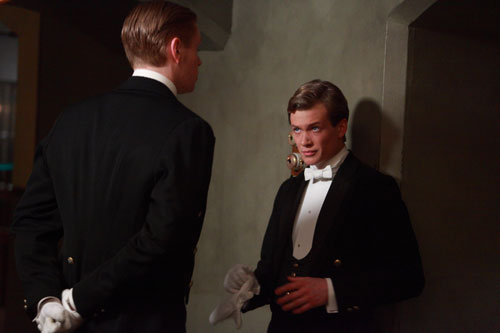 Downton Abbey S3E3: Jimmy Kent comes on board as the new footman and rival of Alfred