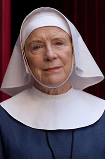 Call The Midwife: Sister Monica Joan played by Judy Parfitt