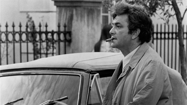 Peter Falk stars in Columbo: By Dawn's Early Light