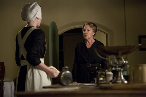 DAS3E5: Isobel confronts Ethel over what she's cooking for her luncheon with the Grantham ladies