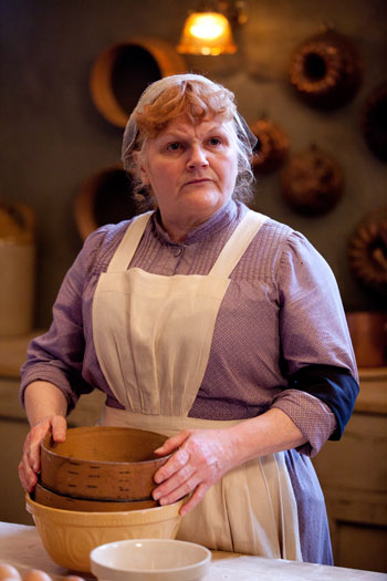 DAS3E5: Mrs. Patmore looking a little annoyed