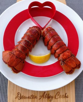The Weekly Downton Dish: Lobster Tails in Beer by Pamela Foster, DowntonAbbeyCooks.com