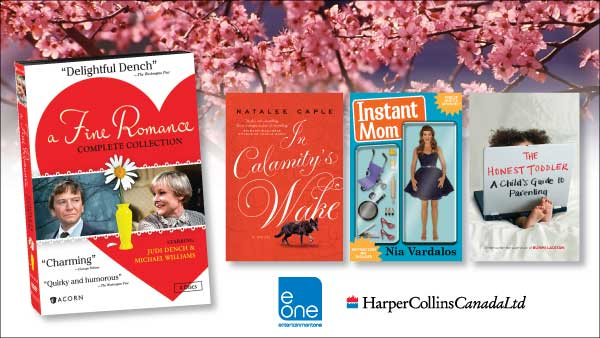 Make Your Mother's Day Contest - May 2013 - Entertainment One and HarperCollinsCanada