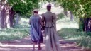 Anne of Green Gables Anne (Megan Follows) -Marilla (Colleen Dewhurst)-holding-hands