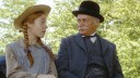 Anne of Green Gables anne( Megan Follows) and-matthew(Richard Farnsworth) first-meeting