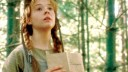 Anne of Green Gables Anne ( Megan Follows) reading a book_