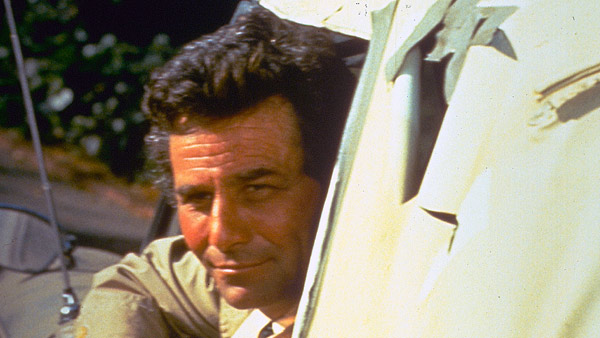 Peter Falk stars in Columbo: Try and Catch Me