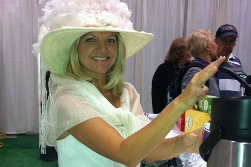 The 2012 ZoomerShow - Pouring in the Downton Abbey Tea Room