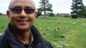 Ecstatic: Marty Ahad, a happy, retired engineer