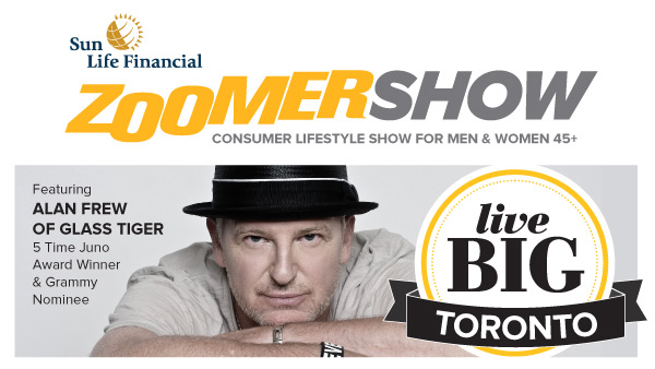The 2013 Toronto ZoomerShow featuring Alan Frew