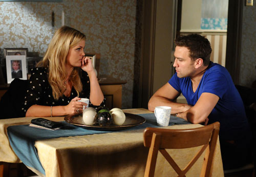EastEnders Weekender (Oct. 28 - Nov. 1, 2013) Tanya Jessop (JO JOYNER), Greg Jessop (STEFAN BOOTH) Photo: Adam Pensotti © BBC 2011
