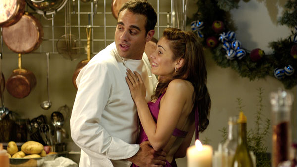 Bobby Cannavale and Carly Pope star in Recipe for a Perfect Christmas