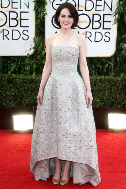 Michelle Dockery, Golden Globes Photo: © FAME Pictures/KEYSTONE Press