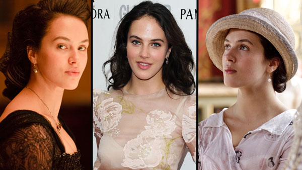 Downton Abbey: Catch Up with Jessica Brown Findlay Photos: (L and R) Jessica Brown Findlay as Lady Sybil Crawley in Downton Abbey (c) Carnival Films/ITV (Middle) ©ZUMAPRESS.com/Keystone Press