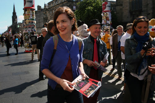 Elizabeth McGovern Photo: Credit Image: © David Cheskin/PA Wire/KEYSTONE Press