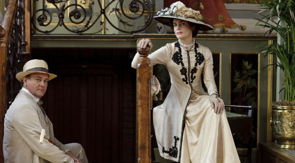 Dressing for Downton - Lord and Lady Grantham