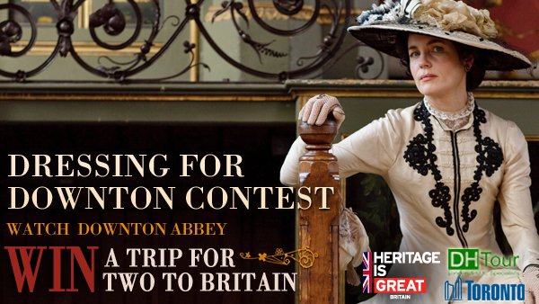 Dressing For Downton Contest - Post Launch