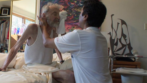 The Trouble With Dying: elderly gentleman being cared for