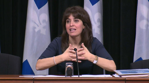 The Trouble With Dying: Véronique Hivon - Minister of Social Services, Québec