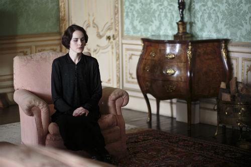 Downton Abbey S4E1: Lady Mary Crawley (MICHELLE DOCKERY)