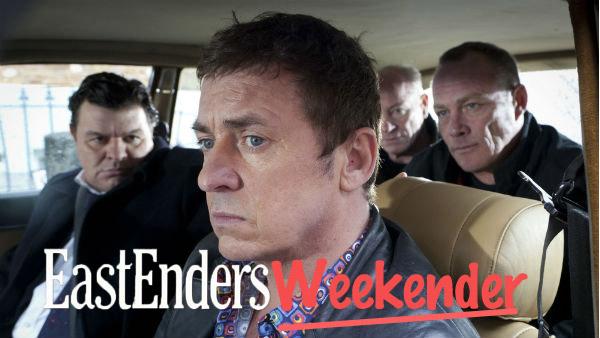 EastEnders Weekender (March 31 - April 4, 2014) Derek Branning (JAMIE FOREMAN), Alfie Moon (SHANE RICHIE) Photo: (c) 2012 BBC