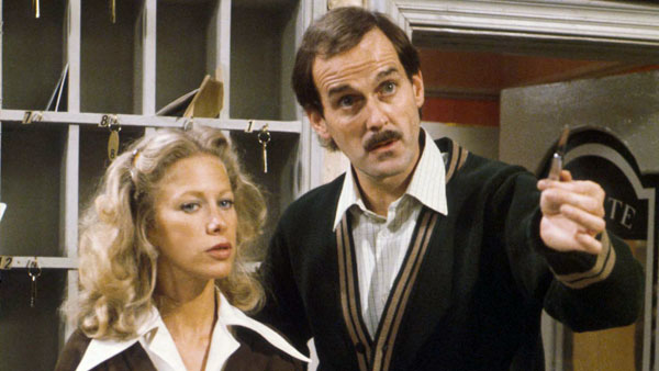 Fawlty Towers S1 L To R Polly Connie Booth Basil