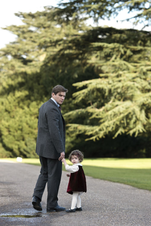 Downton Abbey Cast S4: Tom Branson (ALLEN LEECH), Sybbie