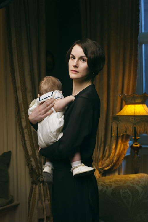 Downton Abbey Cast S4: George Crawley, Lady Mary Crawley (MICHELLE DOCKERY)
