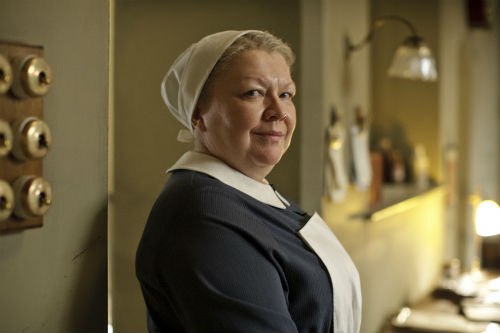 Downton Abbey Cast S4: Nanny West (DI BOTCHER)