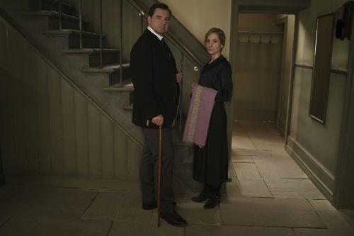 Downton Abbey Cast S4: John Bates (BRENDAN COYLE), Anna Bates (JOANNE FROGGATT)