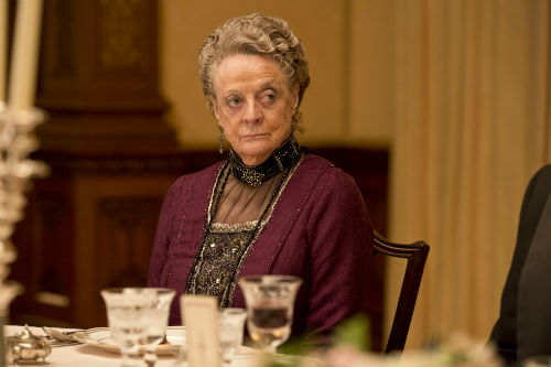 Downton Abbey S4E2: Violet Crawley, Dowager Countess of Grantham (MAGGIE SMITH)