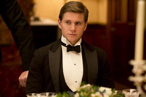 Downton Abbey S4E2: Tom Branson (ALLEN LEECH)