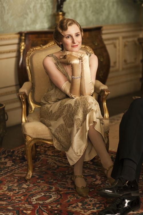 Downton Abbey S4E3: Lady Edith Crawley (LAURA CARMICHAEL)