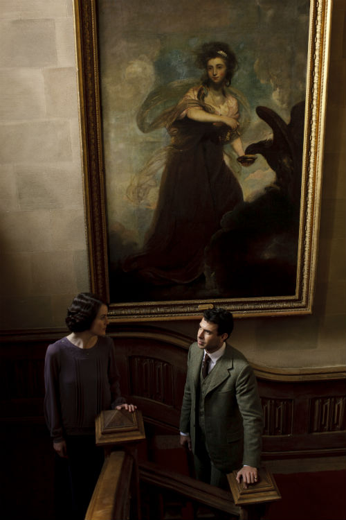 Downton Abbey S4E3: Lady Mary Crawley (MICHELLE DOCKERY), Anthony Gillingham (TOM CULLEN)