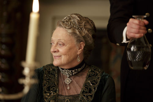 Downton Abbey S4E3: Violet Crawley, Dowager Countess of Grantham (MAGGIE SMITH)